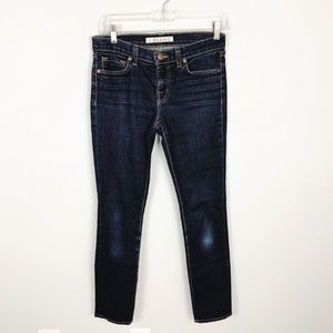 J Brand 811 Mid Rise Skinny Jeans in Ink